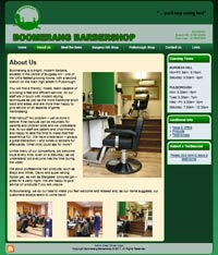 Cyprus Websites - Barbershop Website