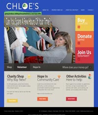 Paphos Web Design - Charity Shop Website