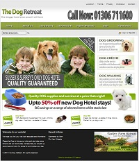 Peyia Website Design - Dog Grooming Website