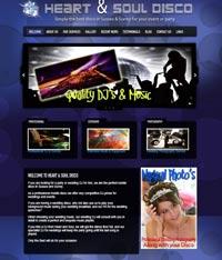 Horsham Web Designs - Disco Site