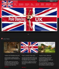 Websites Cyprus - Poledancing Website