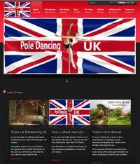 Websites Cyprus - Poledancing Website