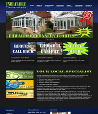 Website Design Cyprus - Conservatory Website