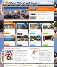 Paphos Websites - Holyland Tours Site
