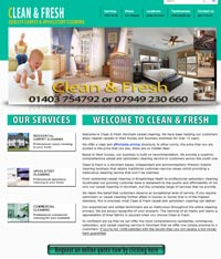 Paphos Website Design Services - Carpet Cleaner