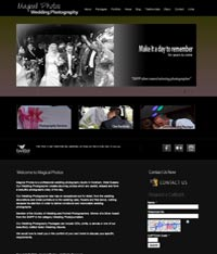 Paphos Web Page Creation - Photography Website