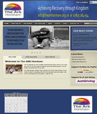 Web Design Paphos - Homeless Website