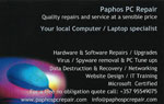 Paphos Computer Repairs - Paphos Laptop Repairs - Contact Details